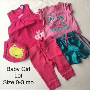 Baby Girl lot bundle clothes All Size 0-3 mo